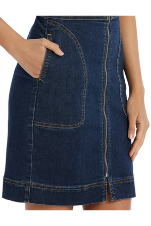Miss Shop - Alexis Fitted Denim Dress