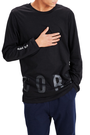 Jack & Jones - Long Sleeve Crew Neck Tee