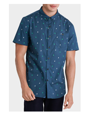 Mossimo - Oceanic Short Sleeve Printed Shirt