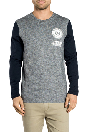 Mossimo - Oakland Long Sleeve Tail Tee