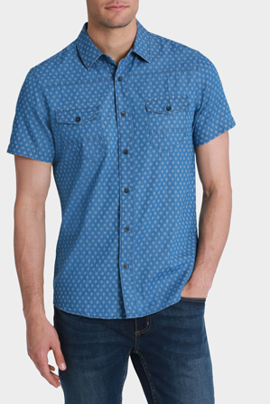 Maddox - Buddy Print Short Sleeve Shirt