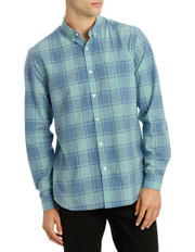 Emile Check Voile Shirt