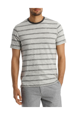 Maddox - Hillside Feather Stripe Tee