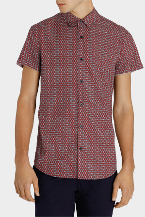 Kenji - Casinio Supremo Print Short Sleeve Shirt