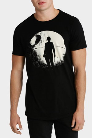 Kenji - STAR WARS R1 DEATH STAR  CURVED TEE