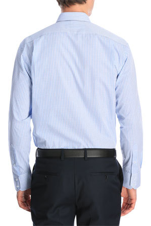 Van Heusen Euro - Check Business Shirt