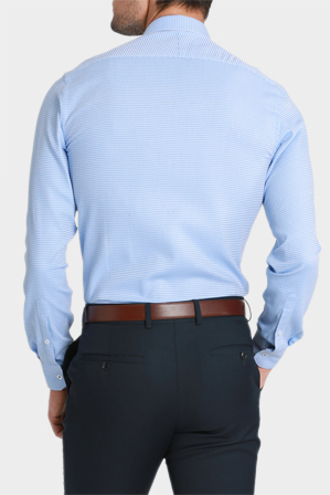 Brooksfield - Luxe Geo Weave Business Shirt