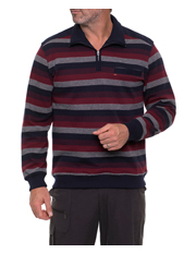 Breakaway - French Rib 1/2 Zip Top