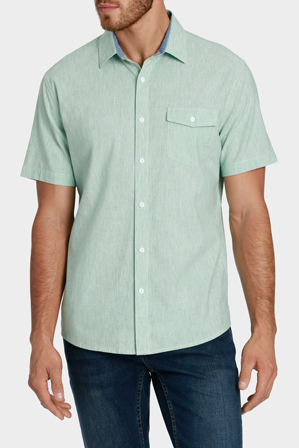 Reserve - Short Sleeve Vertical Stripe Shirt