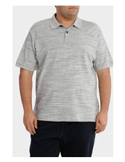 Jack Stone 3XL-7XL - Short Sleeve Slub Yarn Polo