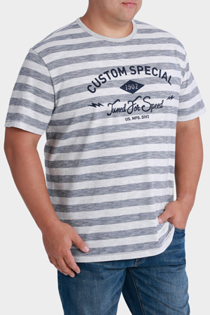 Jack Stone - Short Sleeve Crew Neck Tuned for Speed Print Tee