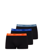 Calvin Klein - Cotton Stretch 3 Pack Low Rise Trunk