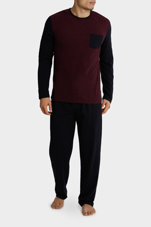 Reserve - Reserve LS Crew Neck Tee & Knit Pant set - Panel Marle