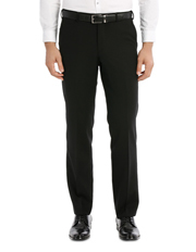 Interceptor Black Suit Trouser