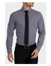 BLAQ SLIM Slim Fit Marchand Business Shirt