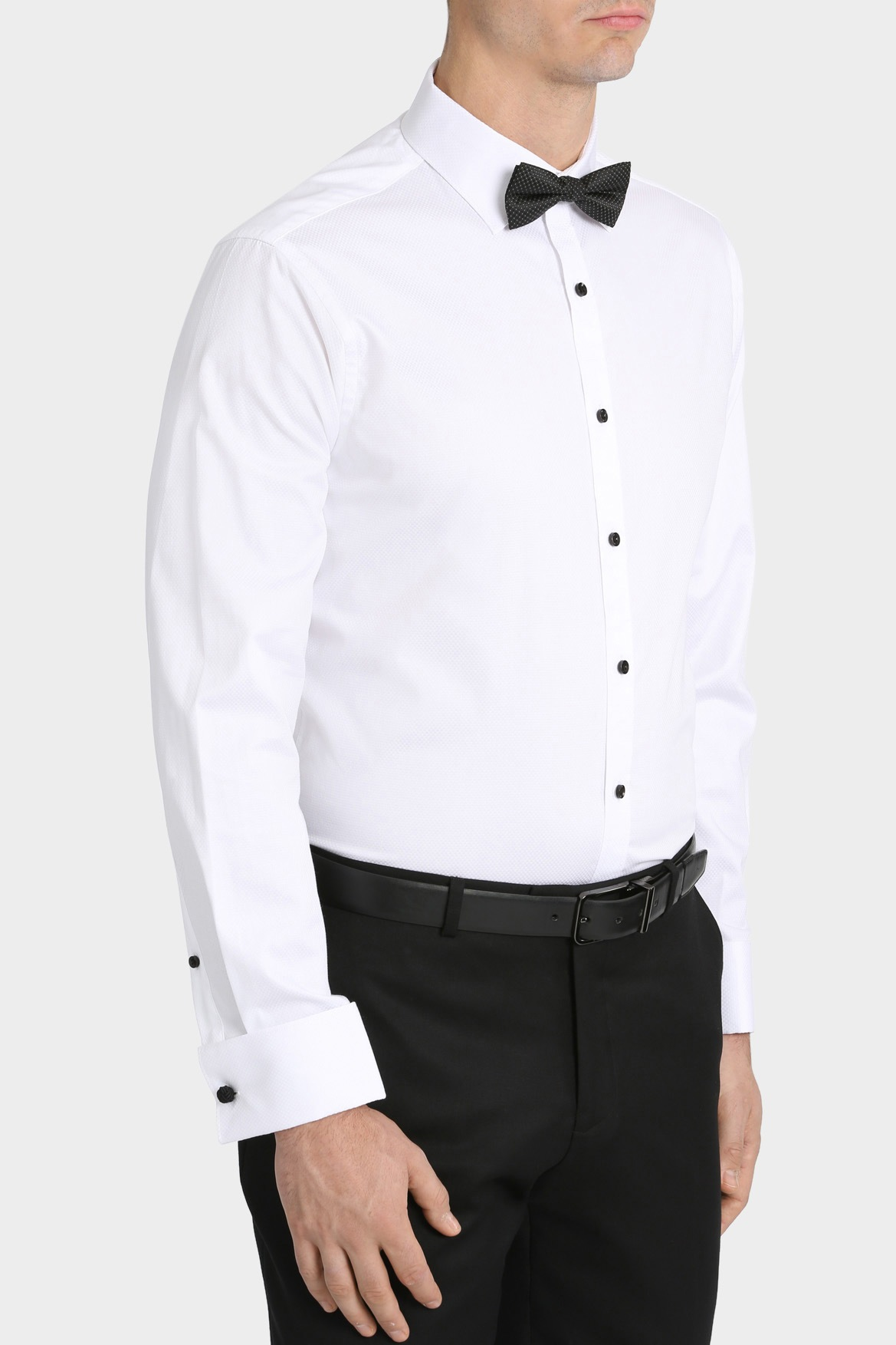 blaq tailored fit dinner business shirt myer online