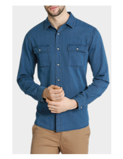 Floyd Denim Long Sleeve Shirt