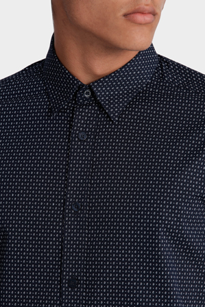 Ben Sherman - Long Sleeve Micro Paisley Shirt