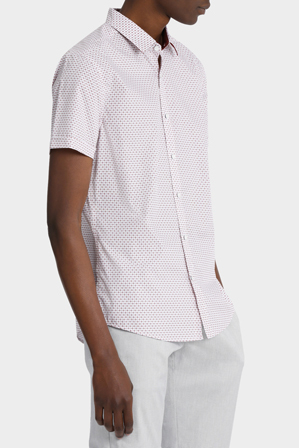 Blaq - Bolivia Print Short Sleeve Slim Shirt