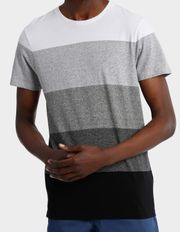 Blaq - Berlin Block Stripe Tee