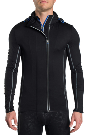 Superdry - Sports Athletic Panel Hoodie