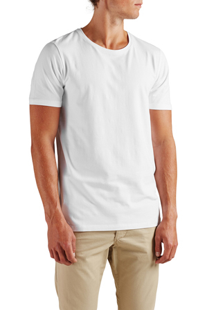 Premium by Jack & Jones - Pima Tee Short Sleeve Crew Neck