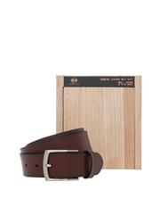 R&A - Tan Crossover Pin Buckle Belt