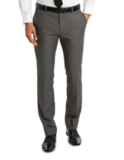 BFTSW18100 Grey Textured Weave Trouser