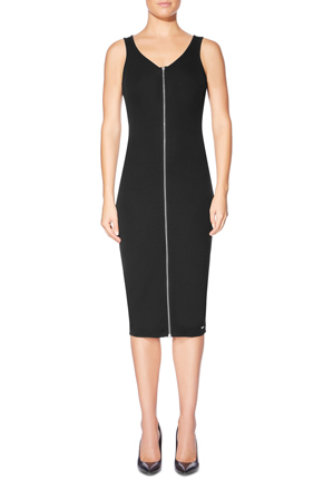 Guess - Sleeveless Joany Zip Up Longette