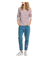 Scotch & Soda - Long Sleeve Striped T-Shirt