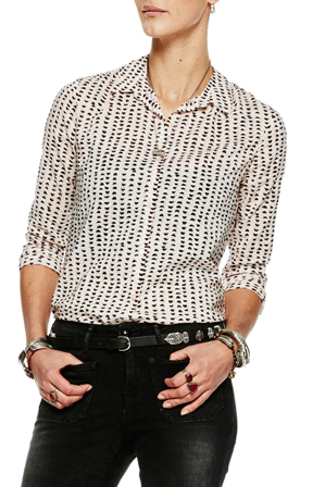 Scotch & Soda - Basic Shirt In Various Allover Prints