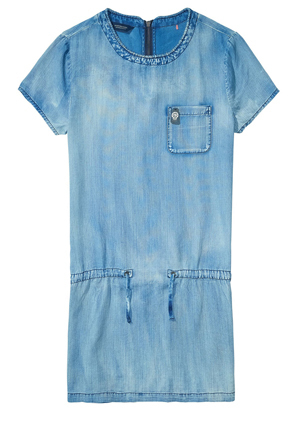 Scotch & Soda - Straight Fit Dress With Zipper At Centreback