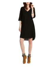 Scotch & Soda - 3/4 Sleeve Tunic Dress With Ladder Tape Inserts
