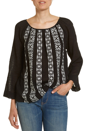 JAG - Gypsy Embroidery Top