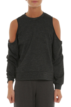 Nude Lucy - Bryant off-shoulder sweat