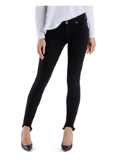 True Religion - Halle Super Skinny in Jet Black