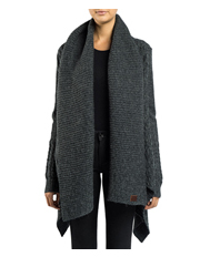 Superdry - Haden Cable Waterfall Cardigan