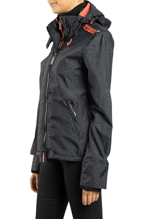 Superdry - Technical Pop-Zip Hooded Windcheater