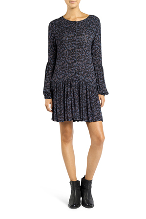 Superdry - Dakota Button Tunic Dress