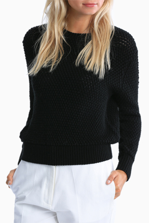 Interval - Textured Crop Sweater