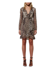 Mossman - Hear Me Roar Tie Dress