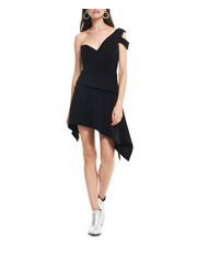 Talulah - Aretha Asymmetrical Mini Dress