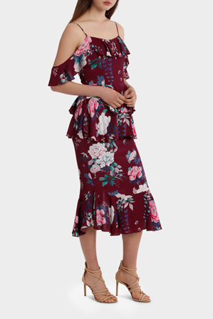 Steele - Peony Tierred Dress