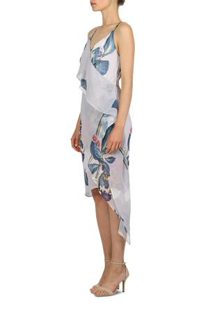 Cooper St - Printed String Wrap Dress
