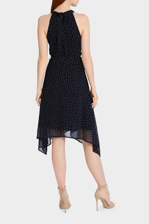 Stella - Onyx Dot Dress