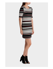 Stella - Strobing Stripe Dress
