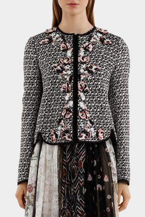 Giambattista Valli - Jacket With Embroidey Detail