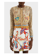 Peter Pilotto - Embroidered Lace Jacket