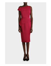 Roland Mouret - Rawlings Satin Dress
