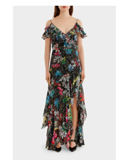 Peter Pilotto - Georgette Strap Gown